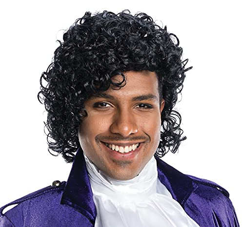 Charades Rock Star Adult Costume Wig, As Shown, One Size