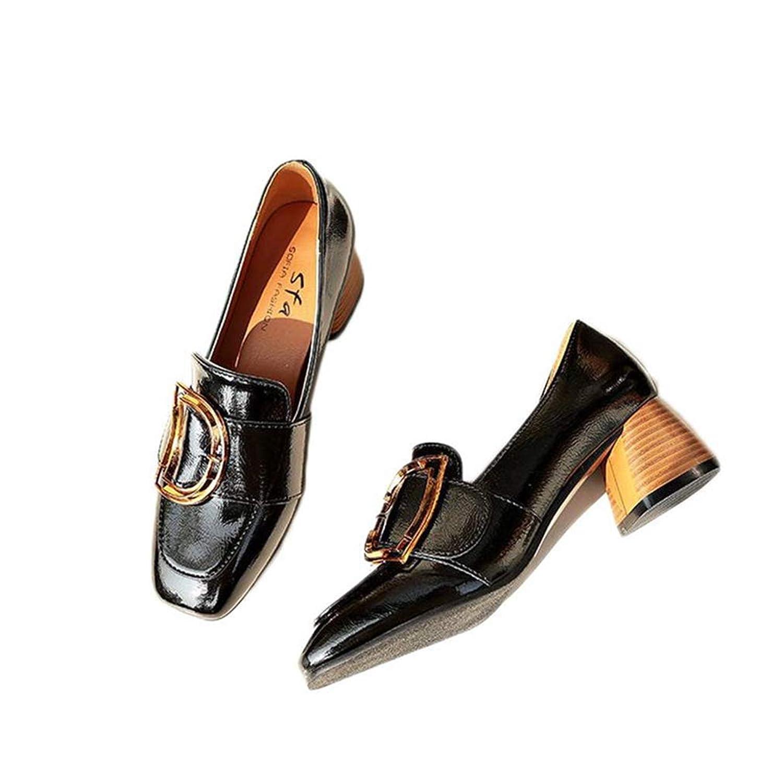 [VALER] パンプス 黒 ローヒール 歩きやすい 普段履き カジュアル ファッション レディース 女子 学生 大きいサイズ 5cm 小さいサイズ ベージュ ローファー 走れる オフィス ブラック BLACK デイリー Pumps 黒