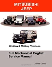 Mitsubishi Jeep Full Mechanical English Service Manual