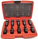 Cal Hawk Tools BISSU103M 10 Piece 3/8' Drive...