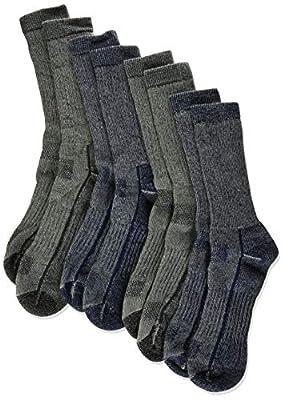 Kirkland Signature Mens Outdoor Trail Socks Merino Wool(Medium), 4 Pairs