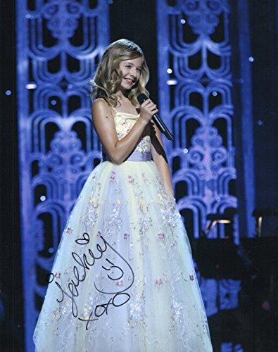 Jackie Evancho singer gorgeous reprint signed autographed photo RP