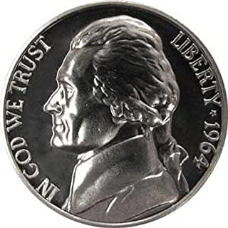 1964 P Gem Proof Jefferson Nickel US Coin