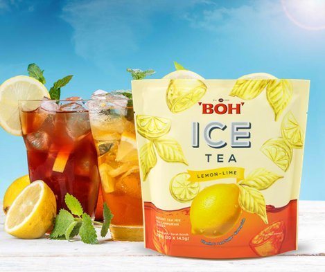 2021 4-Pack Fort Worth Mall Malaysia Boh Ice Cold Fru Lemon Fusion Lime Citrusy