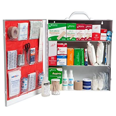 ProStat First Aid 0613 864 Piece First Aid Kit with 3 Shelf Cabinet from ProStat First Aid