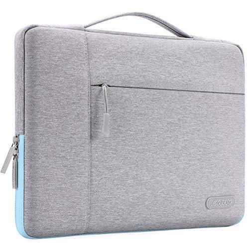 MOSISO Maletín para Portátil Compatible con MacBook Pro 16 Pulgadas, 15 15,4 15,6 Pulgadas DELL Lenovo HP ASUS Acer Samsung Sony Chromebook,Funda Blanda Multifuncional de Poliéster MO-MFT002