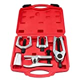 Frombet 5-in-1 Ball Joint Separator, Pitman Arm Puller, Tie Rod End Tool Set for Front End...