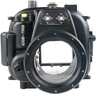 Sea frogs 40m 水中ハウジング Canon 650D 700D Rebel T4i T5i用 防水ケース