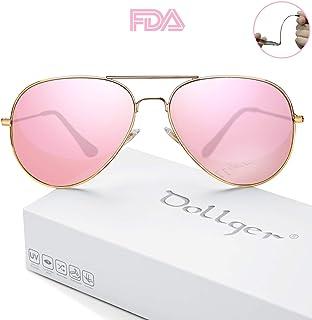 a7de424fdc Polarized Sunglasses for Men Women Mirrored Sun Glasses Classic Style -  UV400 Protection