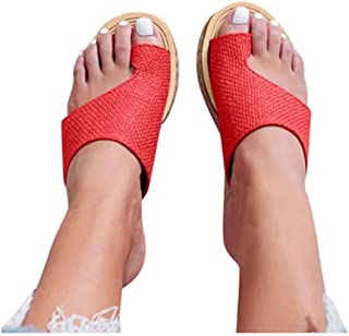 Womens Bunion Sandals, Shoes for Big Toe Bone Correction, Non Slip Shock Absorption Suitable for Everyday Wear Relieve Pain
