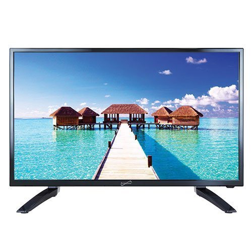 """SuperSonic SC-3210 1080p LED Widescreen HDTV 32"""" Flat Screen with USB Compatibility, SD Card Reader, HDMI & AC Input: Built-in Digital Noise Reduction"""