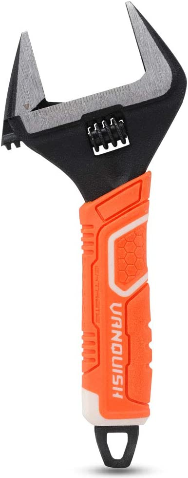 8-Inch VANQUISH 3152 Extra Wide-Open Adjustable Wrench Spanner