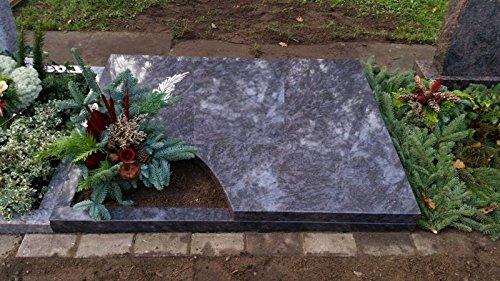 ABC Grabanlage Urnengrab Grabstein Granit Urnenstein 100cm x 100cm