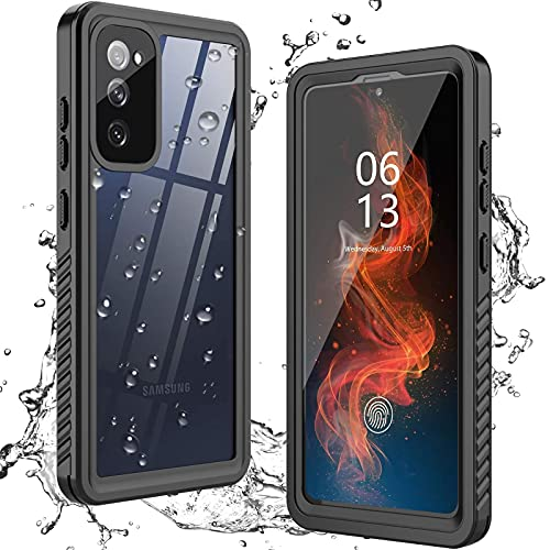 ANTSHARE for Samsung Galaxy S20 FE 5G Case Waterproof, Built in Screen Protector 360° Full Body Heavy Duty Protective Shockproof IP68 Underwater Case for Samsung Galaxy S20 FE 5G 6.5inch