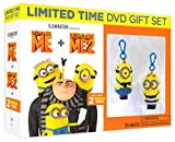 Despicable Me / Despicable Me 2 (2-Movies + 2-Minion Toys) (DVD Gift Set)