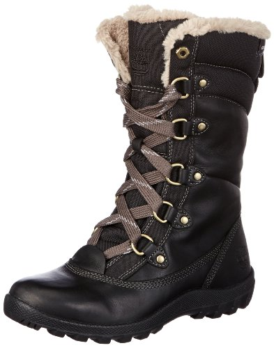 Hot Sale Timberland Women's MT Hope Mid L/F WP Boot,Black,6 M US