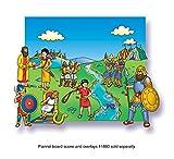 David and Goliath Beginners Bible Felt Figures for Flannel Boards Precut LFV21805