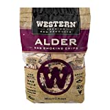 Western Premium BBQ Products Alder BBQ Smoking Chips, 180 cu in
