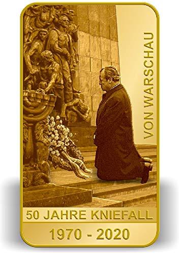 DEUTSCHER MÜNZEXPRESS 50 Jahre Kniefall von Warschau | Goldbarren