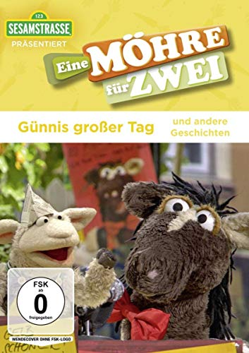 Sesamstraße präsentiert: Eine Möhre für Zwei - Günnis großer Tag und andere Geschichten