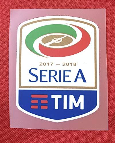Footex Patch Badge Serie A Tim Maglia Lega Calcio Ufficiale GOMMINA Originale Genuine 2017/18