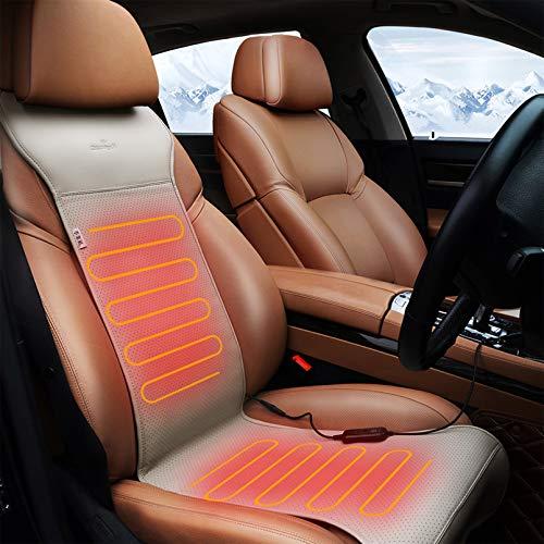 Cuscino Riscaldato 12V Con Regolatore di Temperatura Intelligente (Grigio)