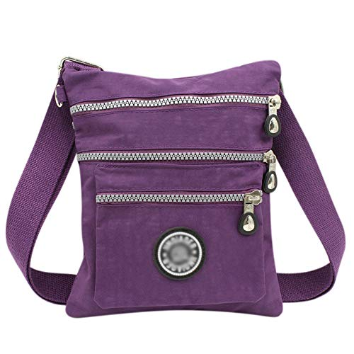Aibearty Boho Nylon Crossbody Bag Tribal Little Purse Cell Phone Pouch Travel Shoulder Bag