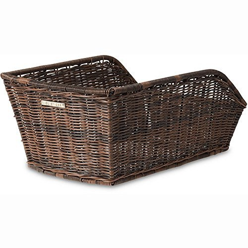 Basil Rear Cycle Basket Cento Rattan Look, Hinterradkorb Cento-Rattan Look, nature brown by Basil