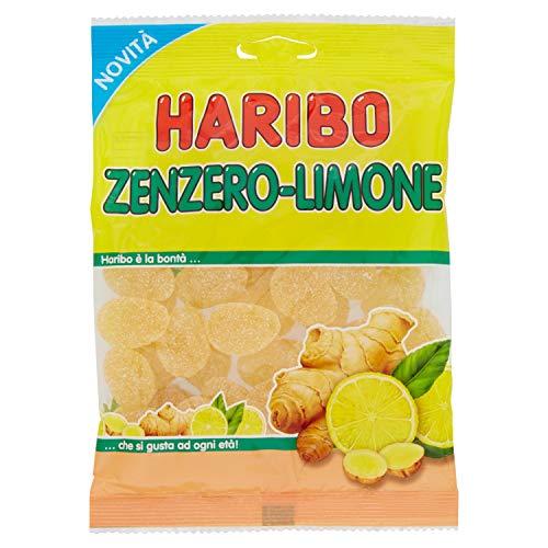 Haribo Caramelle Gomosse Zenzero e Limone, 175g