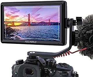 FEELWORLD FW568| 5.5 Inch 4K DSLR Camera Field Monitor IPS Full HD 1920x1080 Support HDMI Input Output Tilt Arm Power Output