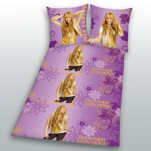 FRIP - Versand Hannah Montana Bettwäsche Secret Star PINK Linon 135/200