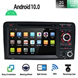 JOYX Android 10.0 Doppio Din Car Stereo per Audi A3 2003-2011 Audio GPS Navigation Headunit | 2G+32G | 7' | Free Backup Camera & Canbus | Supporto WiFi 4G Bluetooth volante Google DAB OBD
