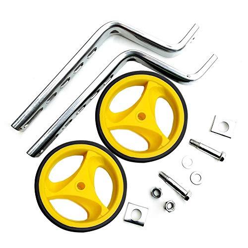 mooderff 2-delig/set steunwielen voor kinderfiets bike training fietsen, 12-20