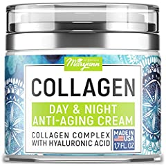 ADVANCED COLLAGEN CREAM - Our Anti-Aging & Firming Cream with Hyaluronic Acid supports cell renewal, boosting elasticity & skin radiance. The ingredients work in harmony, reducing the signs of age for a younger-looking face. GREAT FACIAL MOISTURIZER ...