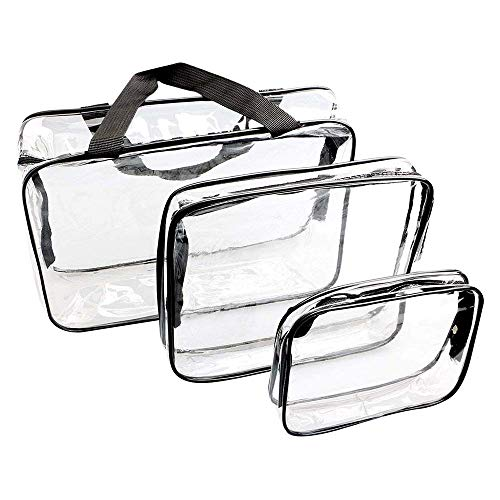 WIFUME 3 Set Clear Packing Cubes