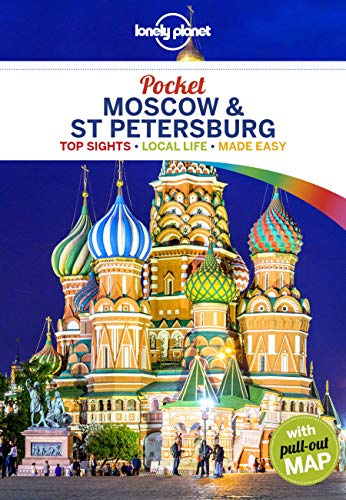 Lonely Planet Pocket Moscow & St Petersburg [Lingua Inglese]