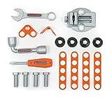 Smoby - Black + Decker 3-in-1 Multi-Werkbank mit Werkzeugkoffer - kleine Werkbank, mobiler Trolley, praktische Schubkarre, mit viel Zubhör, für Kinder ab 3 Jahren