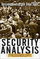 Security Analysis: The Classic 1940