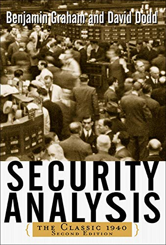 Compare Textbook Prices for Security Analysis: Principles and Techniques 2nd Edition ISBN 0639785382102 by Benjamin Graham,David Dodd