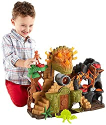 2. Fisher-Price Imaginext Dino Fortress