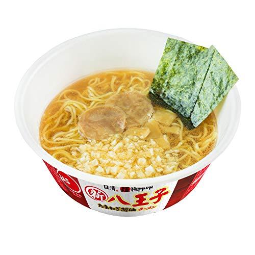 日清麺NIPPON八王子たまねぎ醤油ラーメン112g×12個