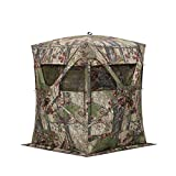 Barronett Blinds BM11BW Big Mike Pop up Portable Hunting Blind, Backwoods Camo