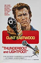 Thunderbolt and Lightfoot Movie Poster (11 x 17 Inches - 28cm x 44cm) (1974) Style E -(Clint Eastwood)(Jeff Bridges)(George Kennedy)(Geoffrey Lewis)(Gary Busey)