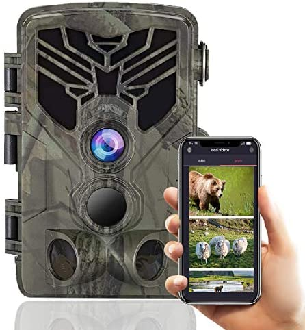 Suntekcam WiFi Bluetooth Trail Camera 24MP 1080P Game Camera with Night Vision Motion Activated product image