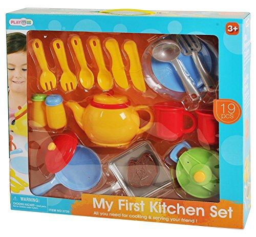 PlayGo 3720 - Küchengeschirr Set, 19 teilig