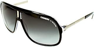 Carrera Sunglasses 40 Black White Blue/Grey Gradient 90D90 Racing Sports