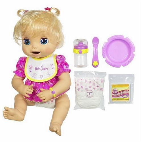 Baby Alive Hasbro Doll, Caucasian