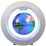 FUZADEL Magnetic Levitating Globe Lluminated Floating Globes with LED World Map Decor Home Levitating World Globe Gift Decoration
