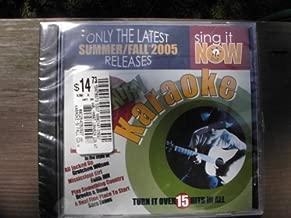 Sing It Now COUNTRY Hits Summer/Fall-2005 Karaoke CDG
