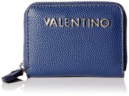 Valentino by Mario Valentino dames Divina portemonnee, blauw (blauw), 1.8x7.5x10 cm